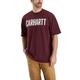 Workwear Graphic Block Logo Short-Sleeve T-Shirt