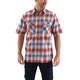 Rugged Flex Bozeman Plaid Snap-Front Short-Sleeve Shirt