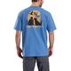 Workwear Dog Graphic Short-Sleeve T-Shirt