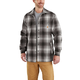Hubbard Sherpa-Lined Plaid Flannel Shirt Jac