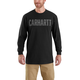 Workwear Block Logo Graphic Long-Sleeve T-Shirt