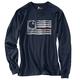 Lubbock Logo Flag Graphic Long-Sleeve T-Shirt