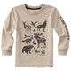 Woodgrain Animals Tee