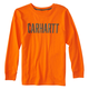 Long-Sleeve Carhartt Block Graphic Tee