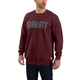 Block Logo Crewneck Sweatshirt