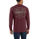 Workwear Built by Hand Graphic Long-Sleeve Pocket T-Shirt