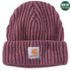 Rib Knit Acrylic Hat
