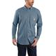 Flame-Resistant Carhartt Force Original Fit Lightweight Long-Sleeve Button Front Shirt