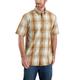 Relaxed Fit Lightweight Short-Sleeve Button-Front Plaid Shirt