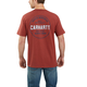 Relaxed Fit Heavyweight Short-Sleeve Pocket Rugged Graphic T-Shirt