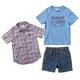 3-Piece Woven Shirt Set