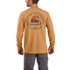 Carhartt Relaxed Fit Heavyweight Long-Sleeve Pocket Built for the Elements Graphic T-Shirt