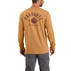 Carhartt Relaxed Fit Heavyweight Long-Sleeve Pocket Logo Graphic T-Shirt