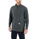 Carhartt Relaxed Fit Heavyweight Long-Sleeve Half Zip Thermal T-Shirt