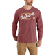 Carhartt Relaxed Fit Heavyweight Long-Sleeve Pocket Graphic T-Shirt