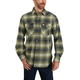 Carhartt Rugged Flex Relaxed Fit Flannel Long-Sleeve Snap-Front Plaid Shirt