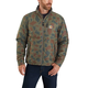 Carhartt Rain Defender Lightweight Insulated Camo Mock Neck Jacket