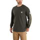 Carhartt Original Fit Heavyweight Long-Sleeve Pocket Logo Graphic T-Shirt