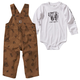 Printed Canvas Overall Set