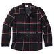 Sherpa Lined Flannel Shirt Jac