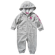 Hooded French Terry Coverall