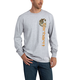 Maddock Graphic Vertical Camo Long-Sleeve T-Shirt