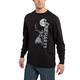 Maddock Graphic Deer Hunter Long-Sleeve T-Shirt