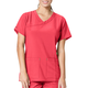 Cross Flex Y-Neck Media Scrub Top