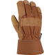 Insulated Grain Leather Work Glove-Safety Cuff