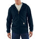 Flame-Resistant Heavyweight Zip-Front Hooded Sweatshirt
