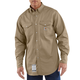 Flame-Resistant Snap-Front Twill Shirt