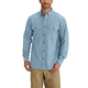 Long-Sleeve Chambray Shirt