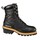 Men's 8-Inch Black Safety Toe Logger Boot