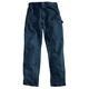 Relaxed-Fit Double-Front Washed Logger Jean