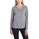 Carhartt Force Performance Long Sleeve V-Neck T-Shirt