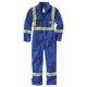 Flame-Resistant Striped Coverall
