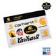 Carhartt Sticker Sheet