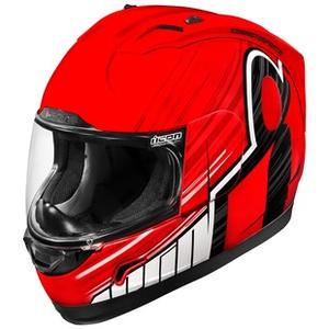 Icon Alliance Dark Black Rubatone Full Face Motorcycle Helmet FREE EXCHANGE