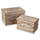 Uttermost Chocolaterie Boxes Set of 2