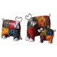 Uttermost Colorful Cows Statues Set of 3