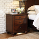 aspenhome Cambridge Nightstand in Brown Cherry