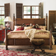 Henry Link Trading Co. California King Somer's Isle Rattan Bed - Closeout!