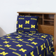 College Covers University of Michigan Sheet Set