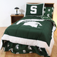 College Covers Michigan State University Bed in a Bag