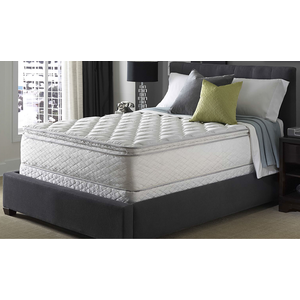 about king serta perfect sleeper silver suite supreme pillowtop ma