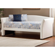 Hillsdale Furniture Montgomery Daybed in White with Free Mattress