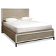 Universal Furniture Great Rooms The Spencer Bedroom Storage Bed in Gray and Parchment