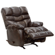 Catnapper Berman Chaise Rocker Recliner in Coffeebean