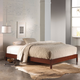 Fashion Bed Group Murray Platform Bed in Mahogany