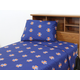 College Covers University of Illinois Printed Sheet Set